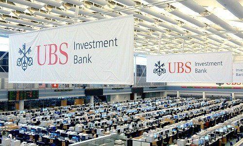Αποτέλεσμα εικόνας για trading floor της UBS