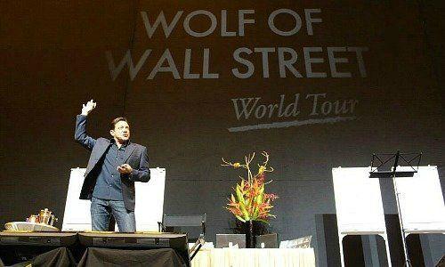 Jordan Belfort Wolf tour