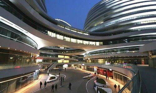 Galaxy Soho Shopping Mall Beijing 500