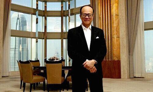 Imprenditore e miliardario Li Ka-shing