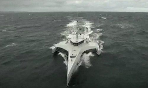 Patrouillenboot der Marine von Mosambik
