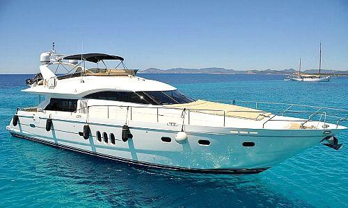Yacht vor Mallorca