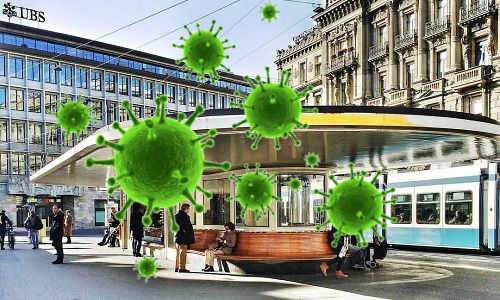 Coronavirus Drastic Measures At Credit Suisse