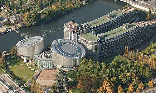 Gerichtshof für Menschenrechte im französischen Strassburg
