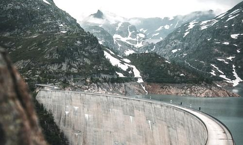 Lac d'Emosson, Svizzera