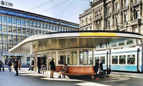 UBS e Credit Suisse presso Paradeplatz, Zurigo