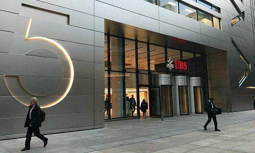 Edificio di UBS a Londra