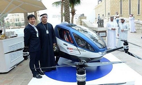 Fliegende Taxis Dubai