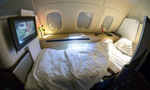 In der First Class für 3'300 Franken nach Shanghai und zurück